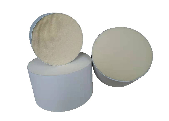 Cordierite Diesel Particulate White Ceramic Substrate Filter High Durability