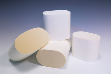 Cellular Cordierite Honeycomb Ceramic Filter , Diesel Particulate Filter